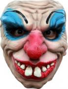 Demi masque clown terrifiant adulte