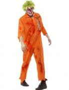 D�guisement zombie prisonnier homme Halloween