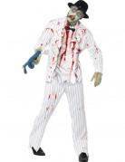 D�guisement gangster blanc zombie homme Halloween