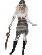D�guisement fant�me pirate femme Halloween