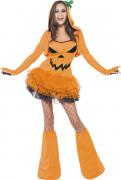 D�guisement citrouille sexy femme Halloween