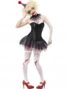 Kit zombie clown femme Halloween