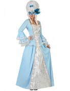 D�guisement princesse baroque bleue femme