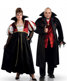 Disfraz de pareja vampiro
