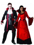 Disfraz de pareja vampiro Halloween