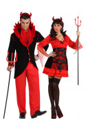 Disfraz de pareja diablo