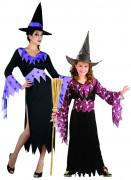 Disfraz de pareja de brujas Halloween madre e hija