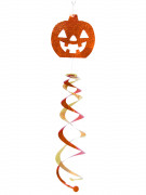 D�coration � suspendre tourbillon citrouille Halloween