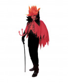 D�guisement diable rouge homme Halloween
