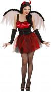 D�guisement diablesse rouge sexy femme Halloween