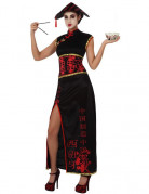 Disfraz china negro para mujer