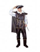 D�guisement capitaine pirate noir adulte