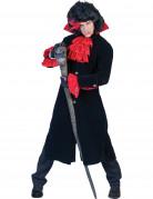 D�guisement comte vampire noir et rouge homme Halloween