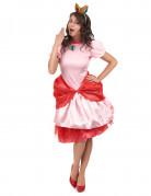 Prinzessin Peach� Verkleidung Deluxe f�r Damen