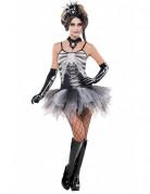 D�guisement squelette sexy femme Halloween