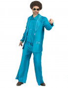 D�guisement disco bleu homme