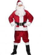 Weihnachtsmann Kost�m Deluxe f�r Erwachsene