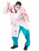 D�guisement chirurgien ensanglant� adulte Halloween