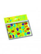 Vous aimerez aussi : 150 confettis de table 40 ans
