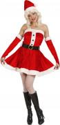 Miss Santa Kost�m f�r Damen
