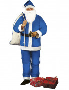 Weihnachtsmann Kost�m blau f�r Herren