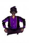 Knecht Ruprecht Verkleidung violett f�r Erwachsene