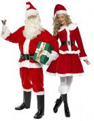 Disfraz de pareja Pap� y Mam� Noel