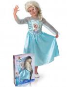 Disfraz de Elsa Frozen� con peluca ni�a