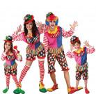 D�guisement de famille clowns