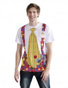 T-shirt clown adulte