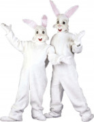 D�guisement mascotte lapin adulte