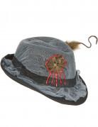 Chapeau borsalino trou à rat adulte Halloween
