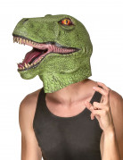 Masque latex dinosaure adulte