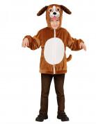 Veste à capuche chien enfant