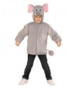 Veste à capuche éléphant enfant