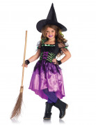Déguisement sorcière enchanteresse fille Halloween