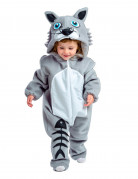 Déguisement chaton gris bébé - Premium