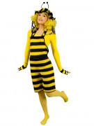 Déguisement salopette abeille femme