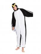 Déguisement pingouin en peluche adolescent