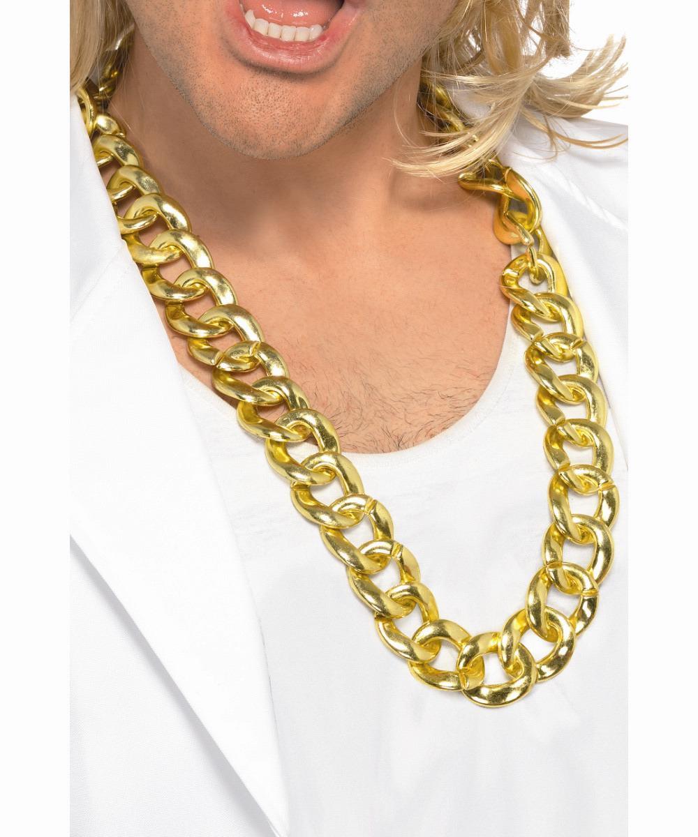 Золотая толстая цепь на шею в разделе: Одежда, обувь и аксессуары, Карнавальные костюмы (объявление 2177469