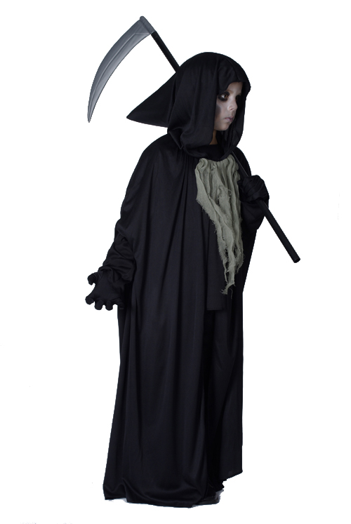 the grim reaper halloween costume for children. Black Bedroom Furniture Sets. Home Design Ideas