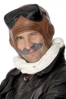 Sans visage d'aviateur Casque-aviateur