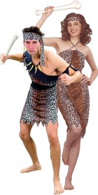 Cavern costume for couples