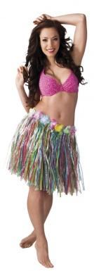 Oferta: Falda hawaiana de varios colores para mujer