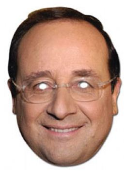Masque Franois Hollande