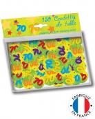 Vous aimerez aussi : 150 confettis de table 70 ans