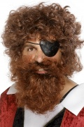 Barbe de pirate homme
