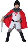 Medieval Crusader Knight Costume  for boys