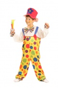 Clown overalls costume for children.