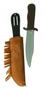 Couteau avec �tui indien